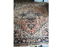 Large Persian Rug 234 by 256cms