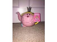 Little Miss Princess teapot for sale! Brand new never used £7
