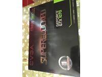 Graphics card EVGA SUPERCLOKED GEFORCE GTX 1070 8 GB memory