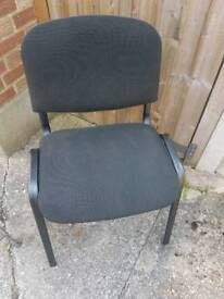 Office chair - grey fabric