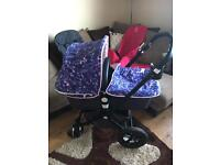 Bugaboo cam 2 with loads of extras