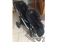 City select baby jogger double buggy push hair stroller