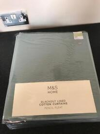 Brand new marks and Spencer's blackout curtains