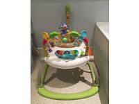 Fisher-Price Rainforest Friends SpaceSaver Jumperoo - Excellent condition