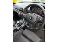 BMW 320 Individual .. years MOT...low mileage for age ...needs work done to it hence the price