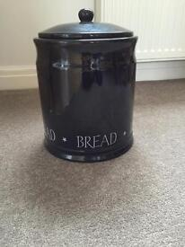 Large ceramic bread bin