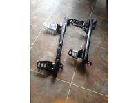 Honda Civic EG/Integra DC2 Bucket Seat Rails and Sliders with Side Mounting Brackets
