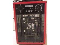 3KW 230V INDUSTRIAL SPACE FAN HEATER ELECTRIC FIRE