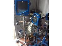 GE DINAMAP PRO 1000 Patient monitor with Recorder, ProCare Auscultatory 300 Moni