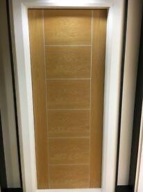 January sale on pre finished oak FD30 fire doors