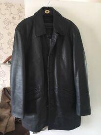 Genuine ciro citerrio leather jacket