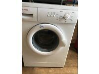 Bosch 7kg 1400 spin washing machine for sale