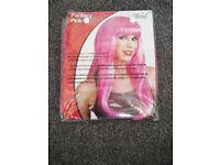 Pink fantasy wig