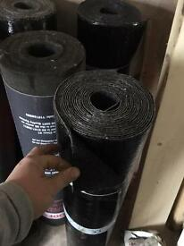 Torch down grey/black mineral felt cap sheet