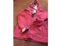 Weird fish zip up hoodies
