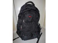 Large President Black Backpack