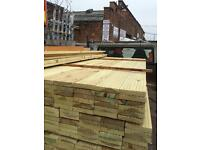 5x1 8ft treated decking £3 per plank