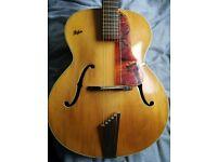 1959 Hofner senator vintage acoustic guitar