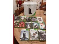 Xbox 360 250gb. Excellebt condition....hardly used as has ps4. 2 controllers. 13 games. £120
