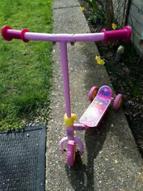 Pepa pig toddler scooter
