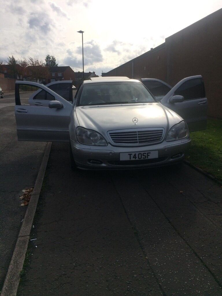Mercedes Benz S Class S320 Fully Loaded With Exhaust System Grab A Bargain 2000 Ono