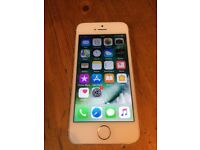 Iphone 5s white and silver 16gb EE/virgin