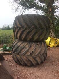 Floatation terra tyres
