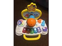 V tech baby toy sit to stand music Centre