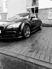 **Immaculate Condition** AUDI TT Black S Line 200bhp