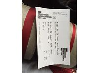 NATALIA OSIPOVA AND GUESTS ticket Edinburgh international festival