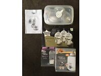 TOMMEE TIPPEE BREAST PUMP AND ACCESSORIES £15
