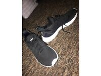 Adidas Black and white brand new Trainers size 5