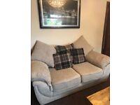 Corner and 2 seater sofa