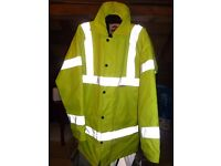 Hi - Vis Lined Jacket