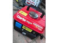 Clarke petrol generator 720w