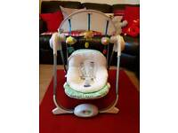 Chicco polly baby swing