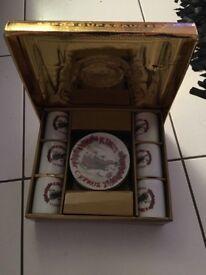 Twelve piece coffee set from Cyprus