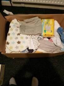 Boys clothes 0-9 months