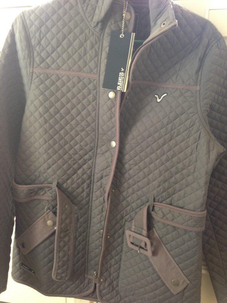 Ladies VOI Jeans Jacket Size 14 BNWT Grey