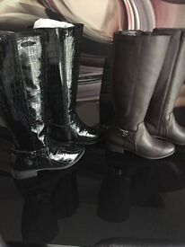 Knee height boots size 6