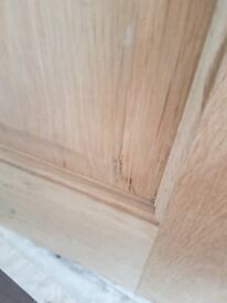 Solid Oak Panel Doors