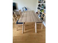 Ikea Dining Table & Chairs