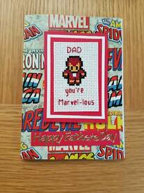 Handmade Ironman Father's day carx