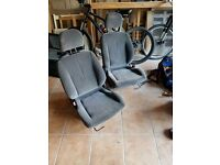Esi seats , and steel rims