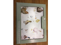 Toughened glass topped chopping board. Brand new.