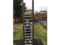 Slide and ladder