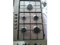 Really Attractive Whirlpool Gas Hob Stainless Steel Excellent condition and quality Fits 60cm Unit