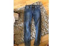 Size 12 river island skinny jeans