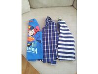 1 boy's Penguin shirt and 2 boys long-sleeved T-shirts