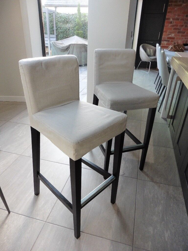 2 Bar Stools From Ikea Style Henriksdal In Derby